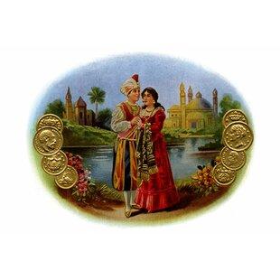 U0027Indian Loversu0027 Wall Art