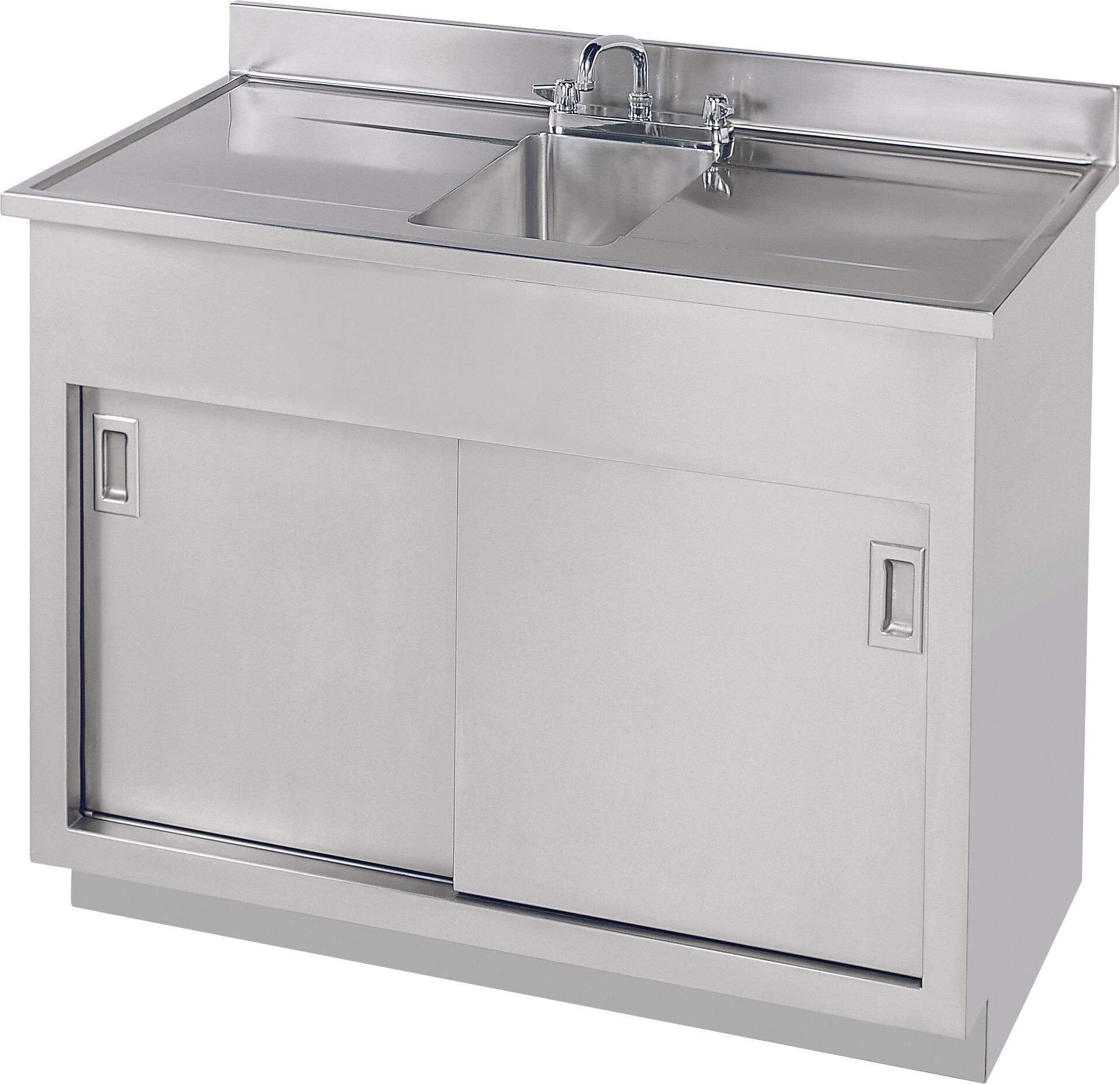 "7"" Sink Cabinet Vanity Base"