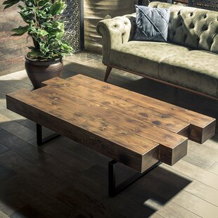 Shavonne Coffee Table by Union Rustic