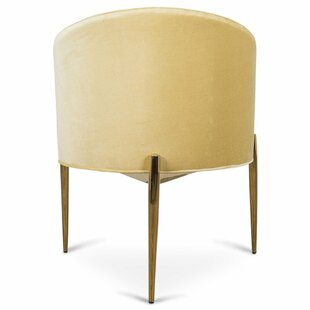 Art Deco Upholstered Dining Chair by ModShop