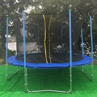 Newacme LLC 14' Round Trampoline with Inner Enclosure