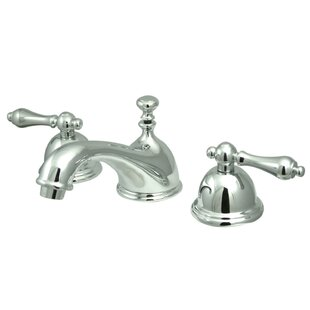 Kingston Brass Restoration Widespread Bathroom Faucet with Drain Assembly