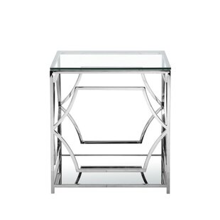 Buy luxury George End Table By Willa Arlo Interiors