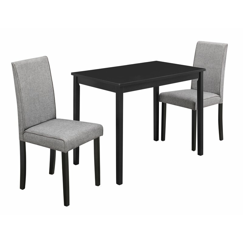 Attractive Darvell 3 Piece Dining Set
