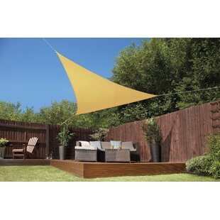 Tenney 3.6m Triangular Shade Sail By Sol 72 Outdoor