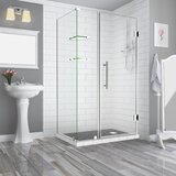 Bromley GS 54 x 72 Rectangle Hinged Shower Enclosure by Aston