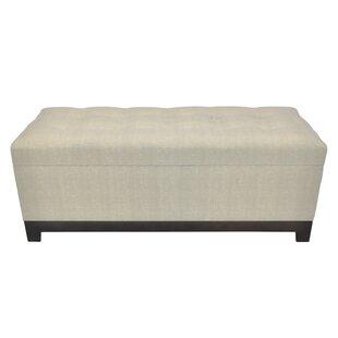 Latitude Run Raby Upholstered Storage Bedroom Bench