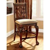 Rima Padded Fabric 25 Counter Stool (Set of 2) by Astoria Grand