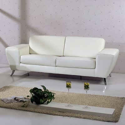 Modern Amp Contemporary White Leather Sofas You Ll Love In