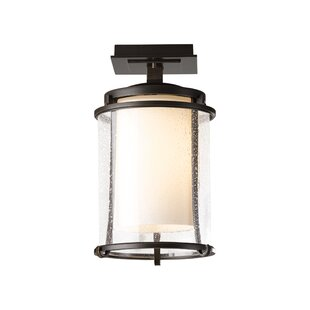 Meridian 1-Light Semi Flush Mount by Hubbardton Forge