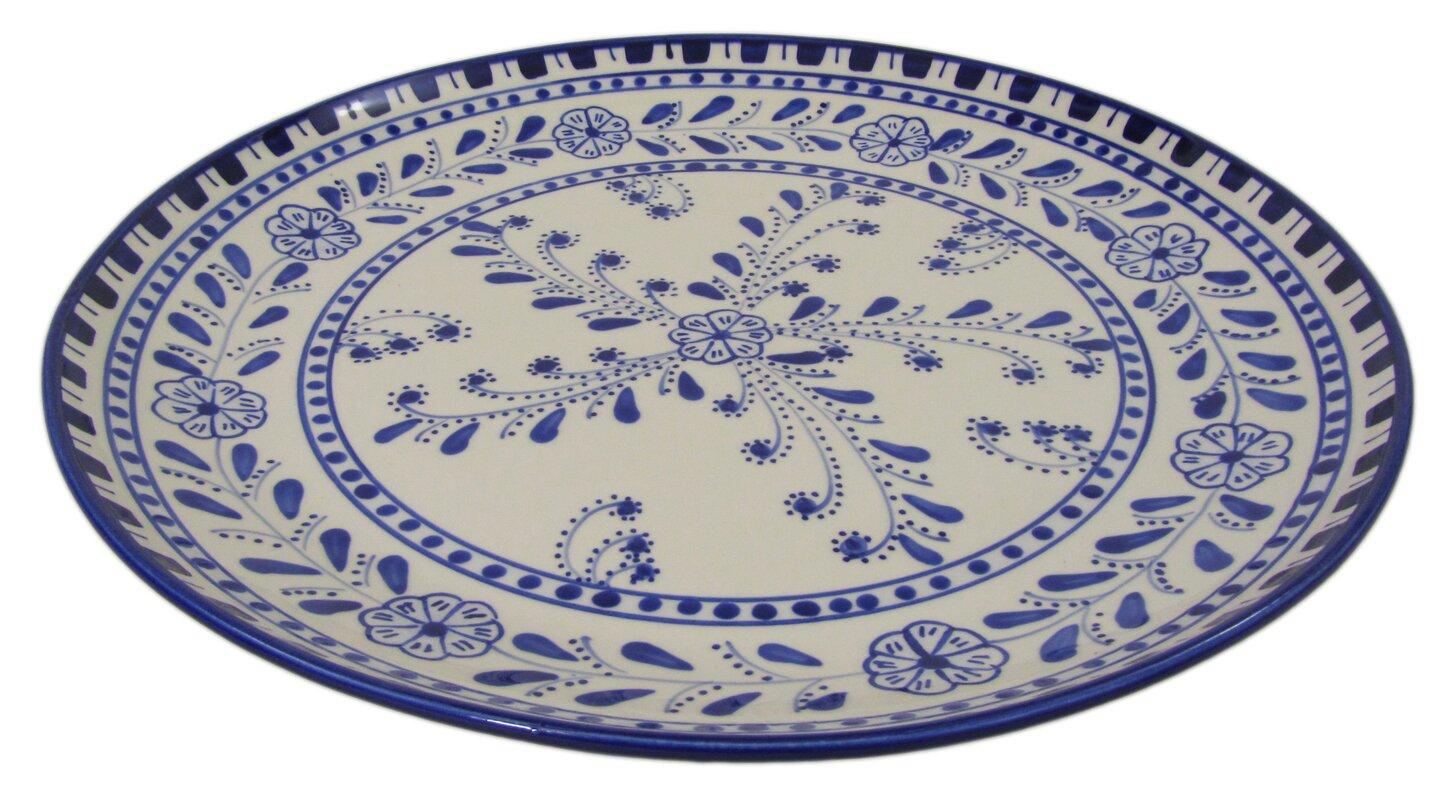 Stoneware Round Platter