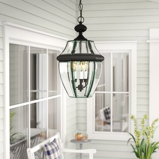 Three Posts Mellen 3-Light Outdoor Hanging Lantern