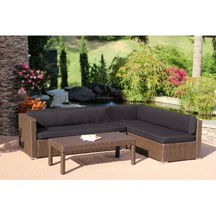 Totnes 3 Piece Sectional Set with Cushions