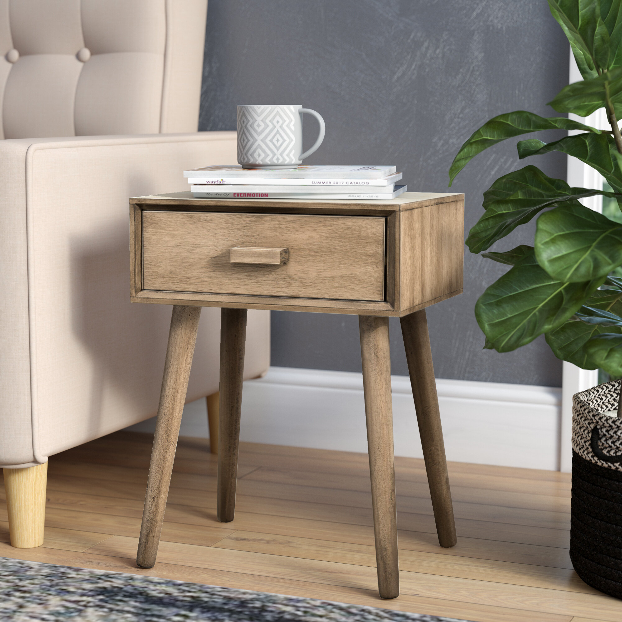 Industrial Nightstands You Ll Love In 2021 Wayfair
