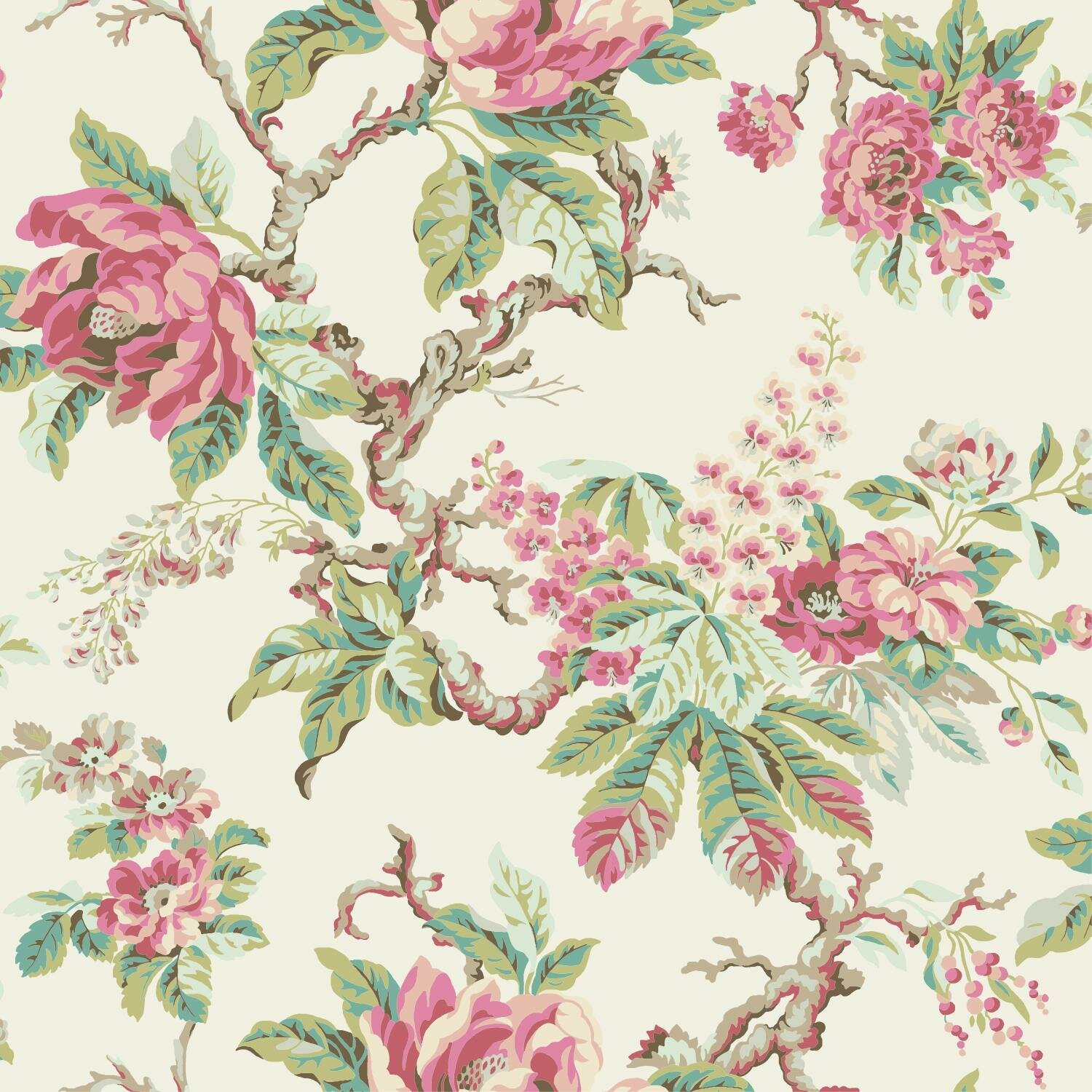 Riddell 33 L X 20 5 W Floral And Botanical Wallpaper Roll Joss