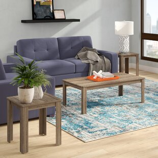 Find for Bullsbrook 3 Piece Coffee Table Set By Zipcode Design