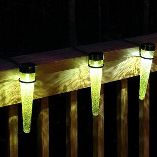 ACHLA Solar Cones 3 Light Rail Light with Handrail Brackets