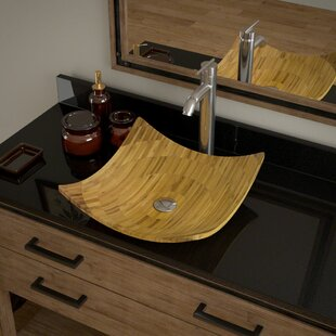 Looking for Bamboo Square Vessel Bathroom Sink with Faucet ByMR Direct