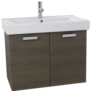 Cubical 32 Single Wall Mount Bathroom Vanity Set by Nameeks Vanities