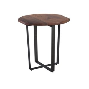 Hekman Live Edge End Table