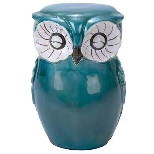 Urban Designs Hand Painted Owl Stool