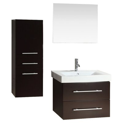 28 Single Bathroom Vanity Set With Mirror
