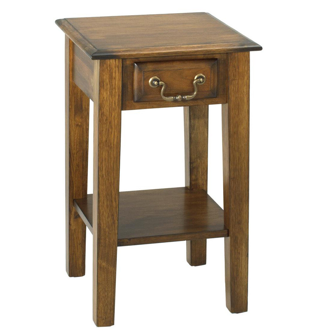 Alcott Hill Seger End Table With Storage Wayfair