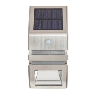 Iacovelli 2 Light LED Outdoor Sconce With PIR Sensor By Sol 72 Outdoor