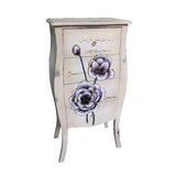 Cantwell Wooden 4 Drawer Accent Chest by Ophelia & Co.