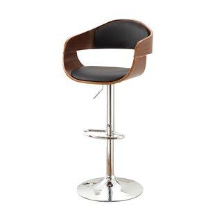 Hokku Designs Tyler Adjustable Height Swivel Bar Stool