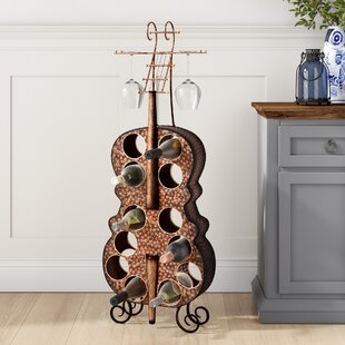 Follansbee 12 Bottle Floor Wine Rack by D..