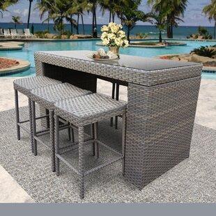 Modern Contemporary Bar Height Outdoor Table Allmodern