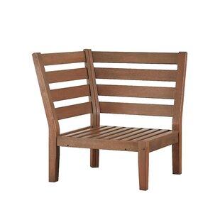 Three Posts Brook Hollow Corner Chair wit..