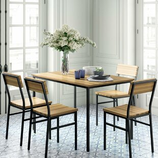 Linden 5 Piece Dining Set Novogratz