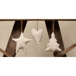 3 Piece Plush Ornament Set