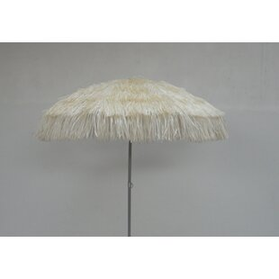 Raffia 1.9m Beach Parasol By Sol 72 Outdoor