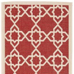 Ceri Red Indoor/Outdoor Rug