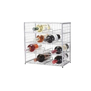 16 Bottle Tabletop Wine Rack by Oenophilia