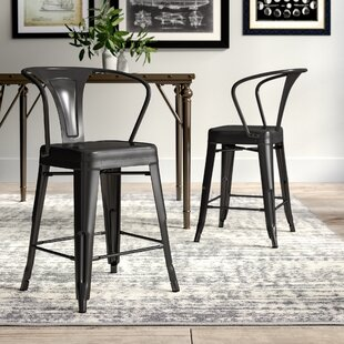 Montville 24 Bar Stool Set (Set of 2) by Greyleigh