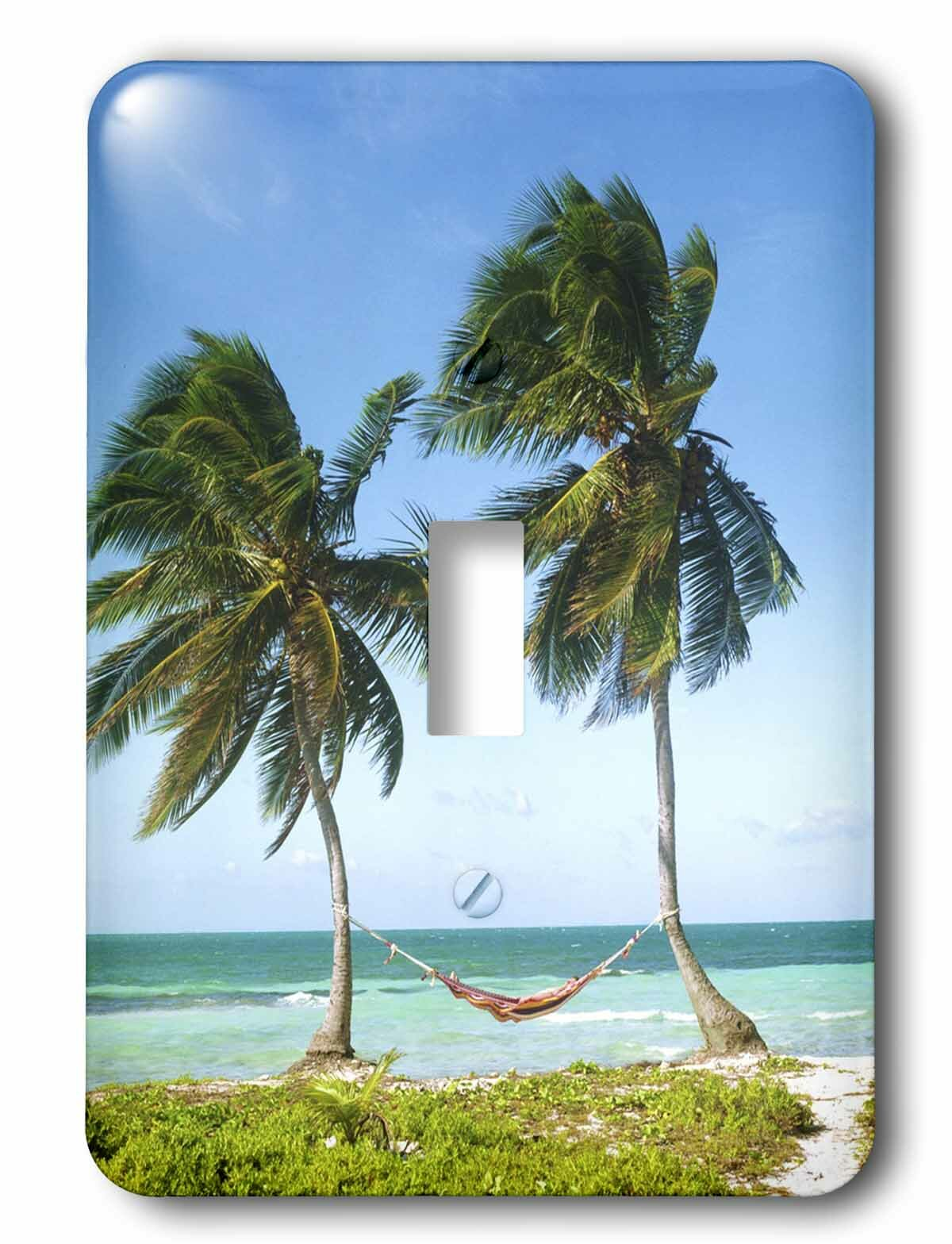 3drose Relaxation Tropical 1 Gang Toggle Light Switch Wall Plate Wayfair