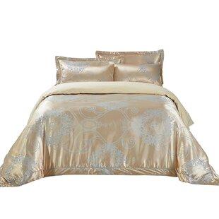 Dolce Mela Verona Cotton 6 Piece Reversible Duvet Set