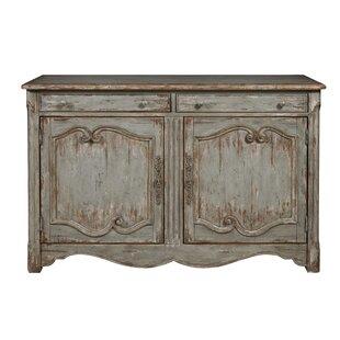 Henriksen Coastal Inspired 2 Door Bar Cabinet by August Grove