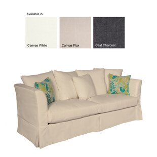 Canora Grey Colburn Patio Sofa with Sunbrella Cushions