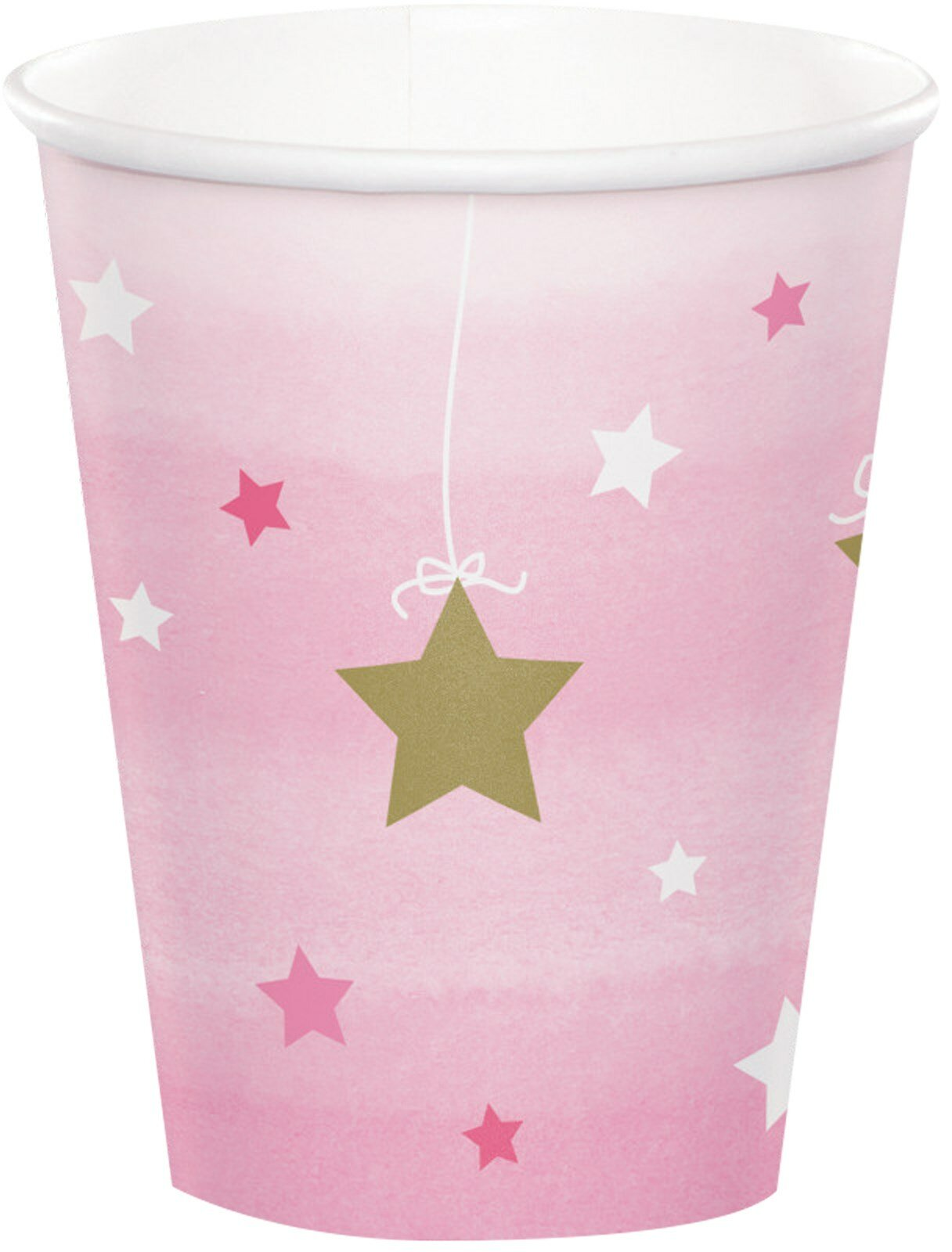 Twinkle Twinkle Little Star Pink Birthday Party Supplies Set Plates Napkins Cups Tableware Kit for 16