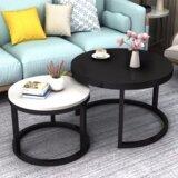Ila 2 Piece Coffee Table Set by Orren Ellis