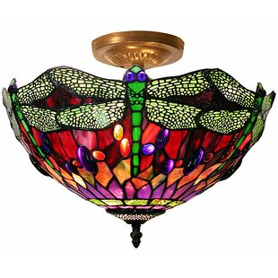 Quince 1-Light Semi Flush Mount by August Grove
