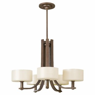 Brayden Studio Brundage 5-Light Shaded Chandelier