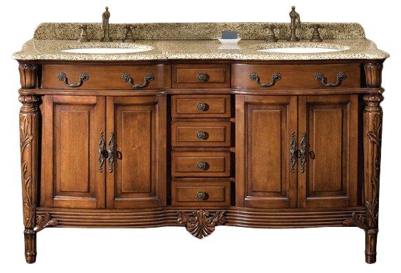 Astoria Grand Tertius Karen 60 Double Bathroom Vanity Set Reviews Wayfair