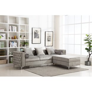 Zaida Reversible Sectional by House of Hampton