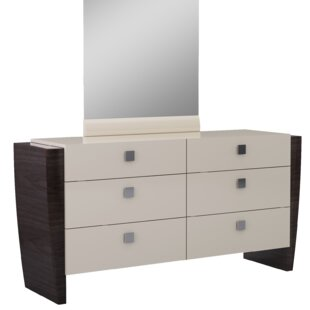 Hailee 6 Drawer Double Dresser